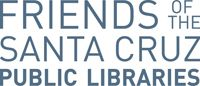 Logo for the Friends of the Santa Cruz Public Libraries.