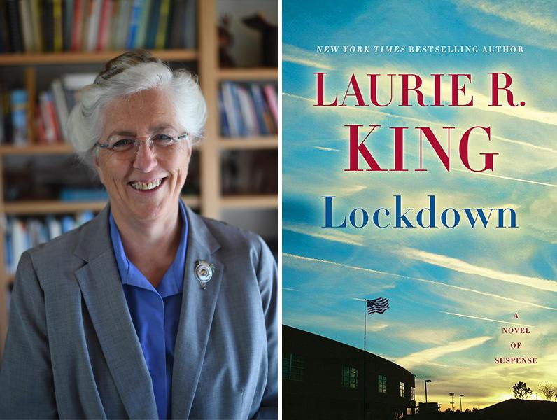Laurie R  King, Lockdown | Bookshop Santa Cruz