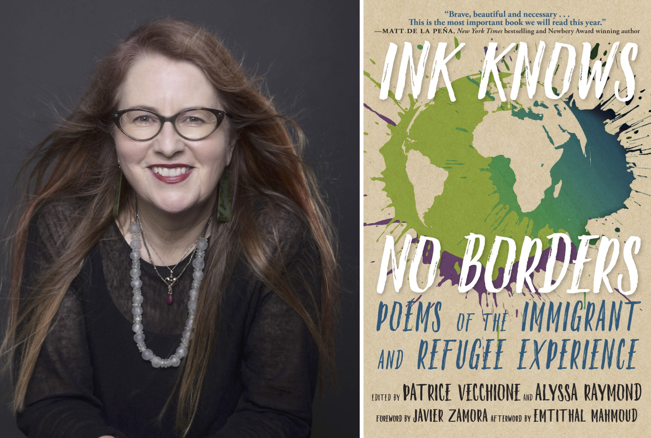Patrice Vecchione Ink Knows No Borders Bookshop Santa Cruz