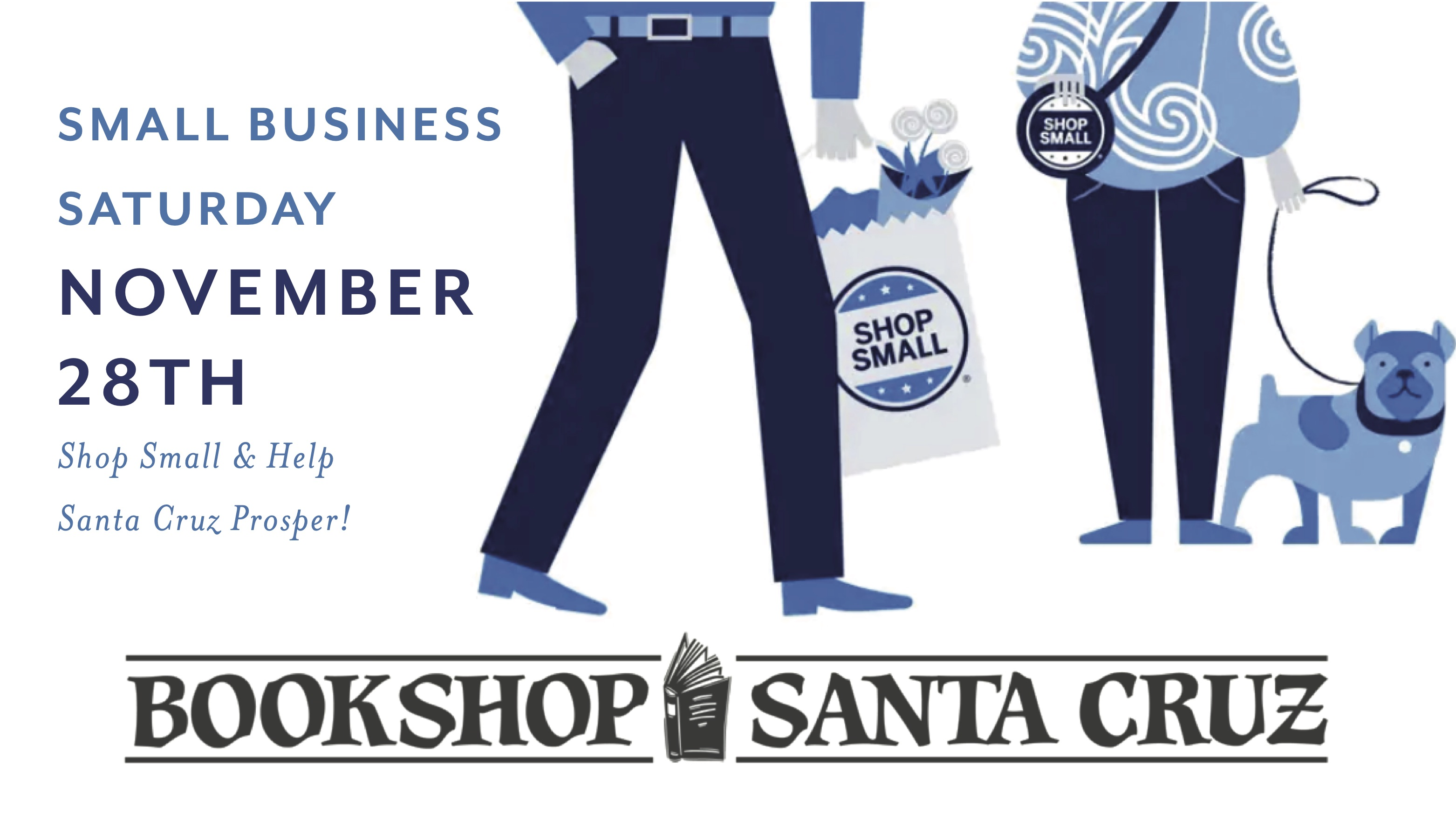 Small Business Saturday Bookshop Santa Cruz