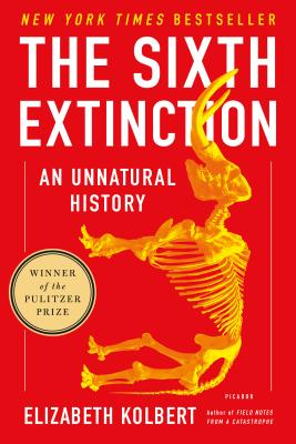 The cover of The Sixth Extinction by Elizabeth Kolbert