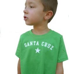 Santa Cruz Toddler Tee--Grass Green